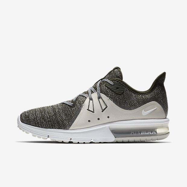 Nike Air Max Sequent 3 Women's Running Shoe - Olive