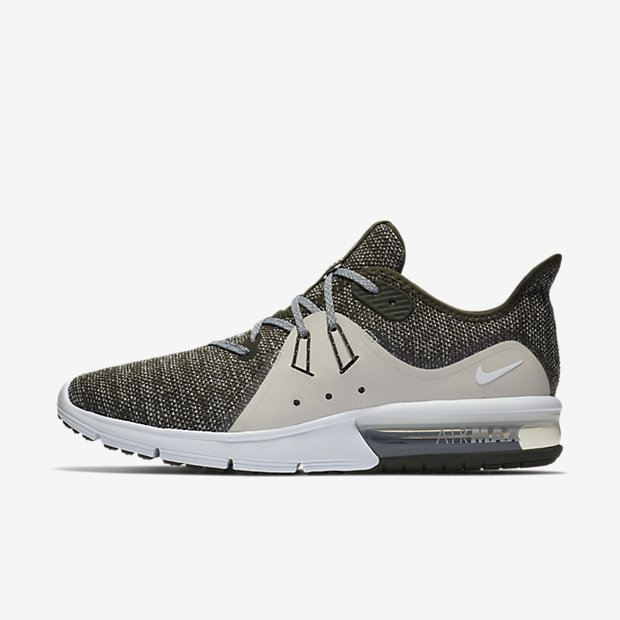 Nike Air Max Sequent 3 Men's Running Shoe - Olive