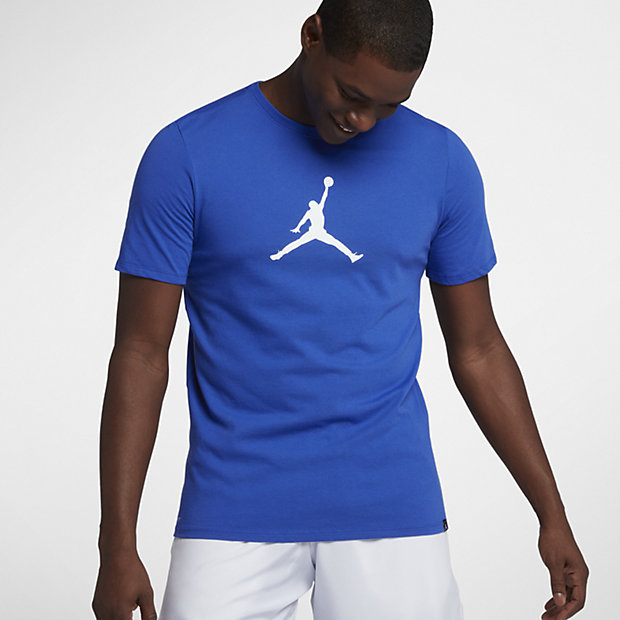 66b5e7b44f8 Nike Jordan Dri-FIT JMTC 23/7 Jumpman Men's T-Shirt - Blue | 925602 ...