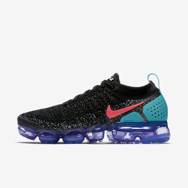 Nike Air VaporMax Flyknit 2 Women's Running Shoe - Black