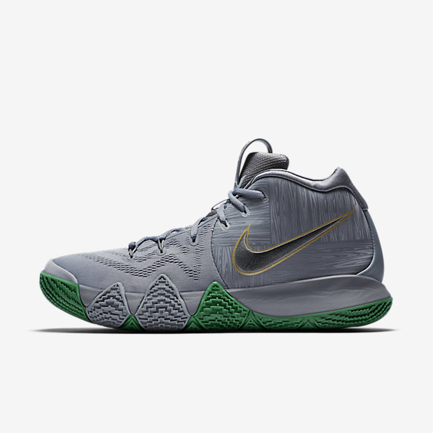Kyrie 4'The Moment'Basketball Shoe - Silver