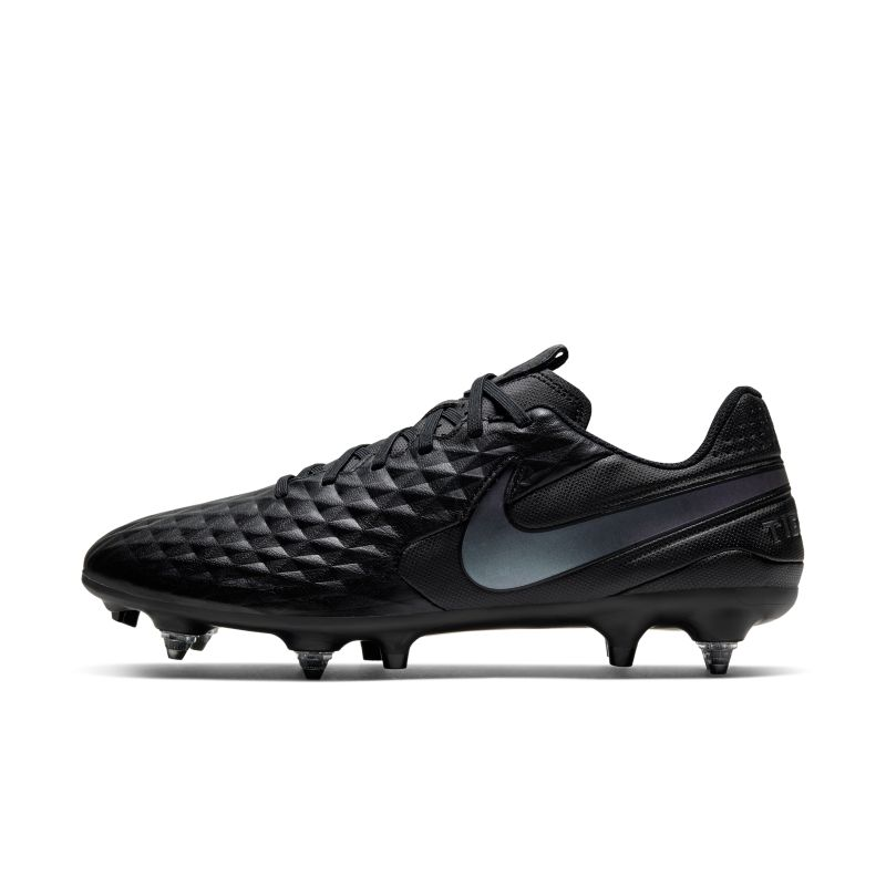 Nike Tiempo Legend 8 Academy SG-PRO Anti-Clog Traction fotballsko til vått gress - Black