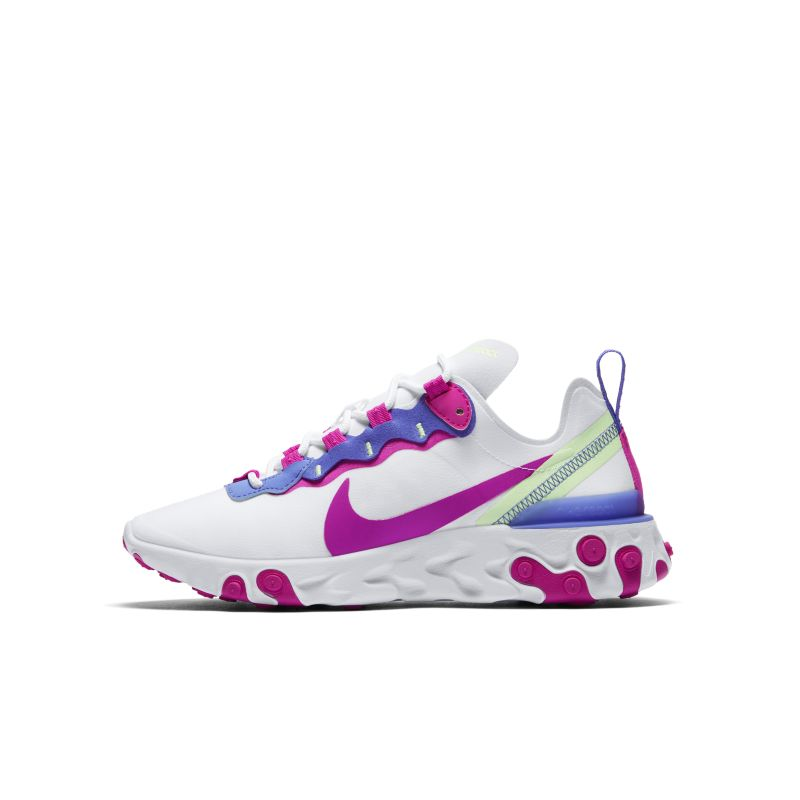 Nike React Element 55 sko til dame - White
