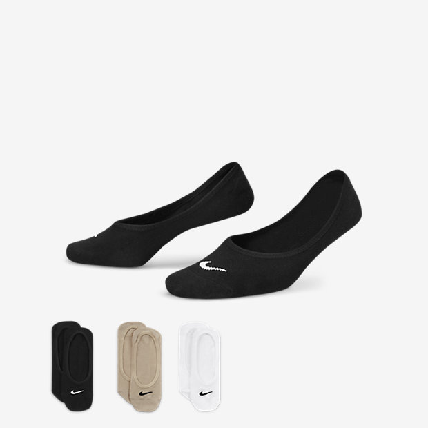 Nike Lightweight No-Show Socks (3 Pair) - not applicable