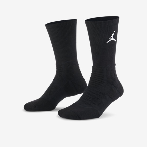 Jordan Ultimate Flight 2.0 Crew Basketball Socks - Black