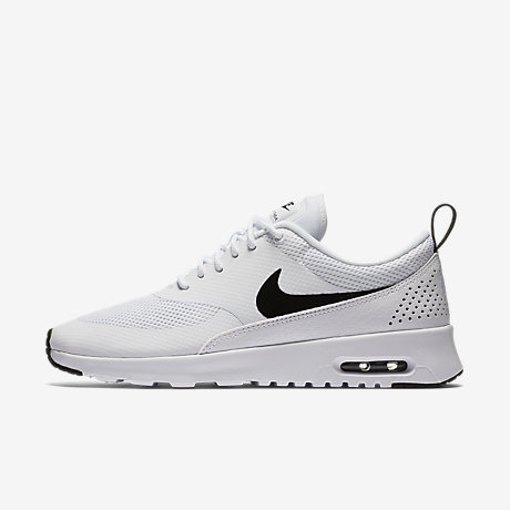 Nike Air Max Thea Black Wolf Grey White Print Office Girl Offspring