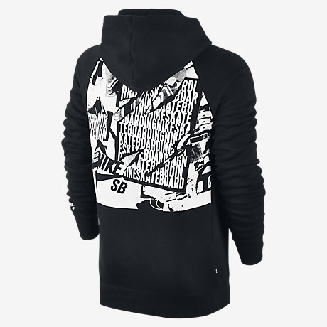 Sweat à capuche Nike SB Icon Ripped Pullover pour Homme