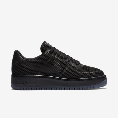 nike air force 1 low zwart