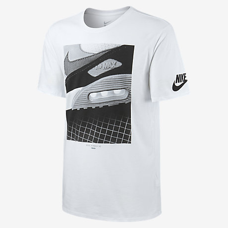 usick Nike Air Max 90 Photo Men\'s T-Shirt. Nike.com UK