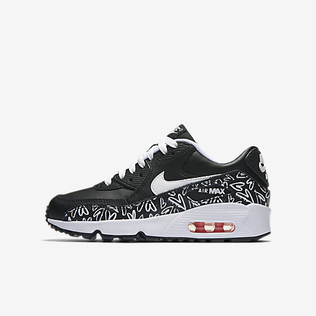 air max 90 print leather