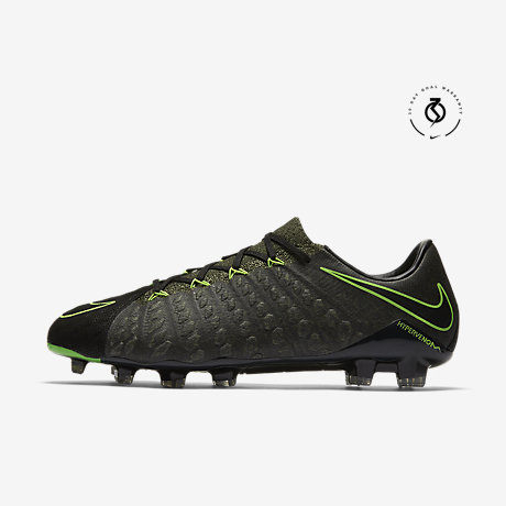 Nike Hypervenom 3 Tech Craft Lo Black/Electric Green