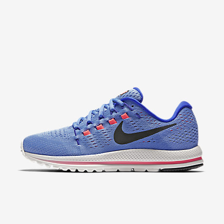 ... blue gold nike zoom v; nike air zoom vomero 12 womens running shoe ...
