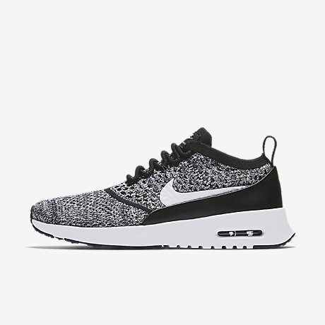 Nike Nike Air Max Thea Basket Weave Trainers In Grey Asos