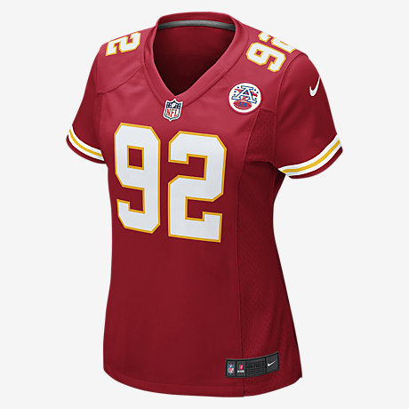 NFL Jersey's Mens Kansas City Chiefs Dontari Poe Nike Red Game Jersey
