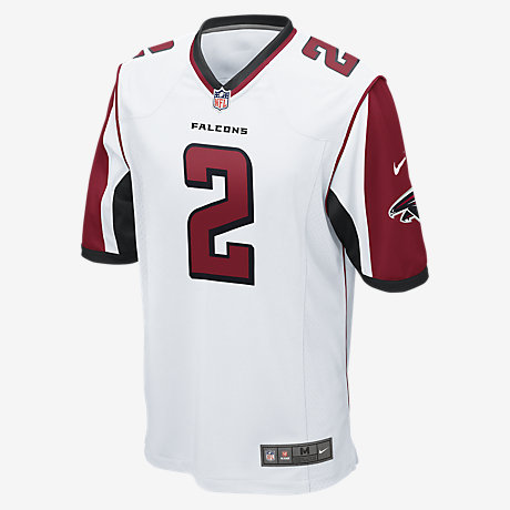 Cheap NFL Jerseys Outlet - NFL Atlanta Falcons (Matt Ryan) Men's Football Away Game Jersey ...