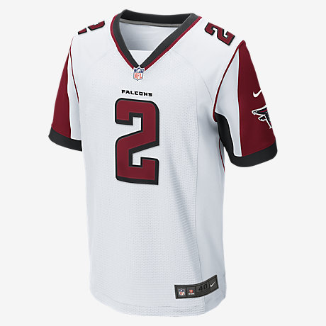 Men's Atlanta Falcons Nike Red Custom Elite Jersey