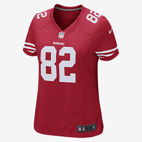 NFL Jerseys Official - NFL San Francisco 49ers (Torrey Smith) Women's Football Home Game ...