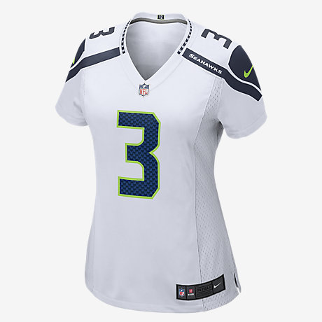 WOMEN Seattle Seahawks Russell Wilson Jerseys