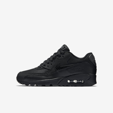 kids black nike air max