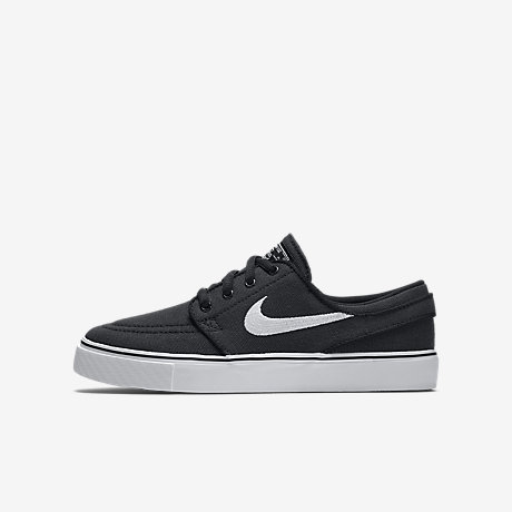 big sale 1967c 79d38 janoski black canvas size 3.5