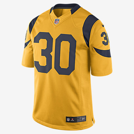 Cheap NFL Jerseys NFL - NFL Los Angeles Rams Color Rush Limited Jersey (Todd Gurley) Men's ...