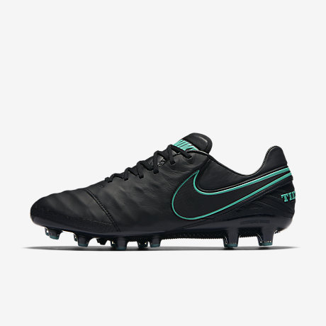 outlet store 31332 111be ... R Black White Gold Nike Tiempo Legend VI AG-PRO ...