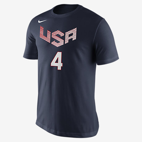 Nike USA Basketball Name and Number (Curry) Men's T-Shirt