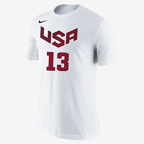 Nike USA Basketball Name and Number (Harden) Men's T-Shirt