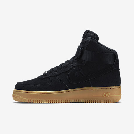 Nike Air Force 1 High Suede Black
