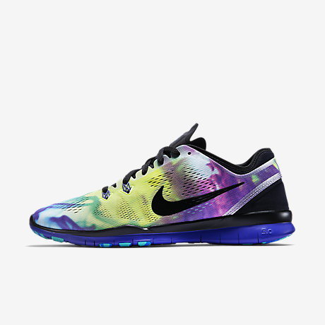 80a877dc4e2c ... where can i buy schwarz blau nike free tr 5 print damänner training  schuh 706cc 7bf98