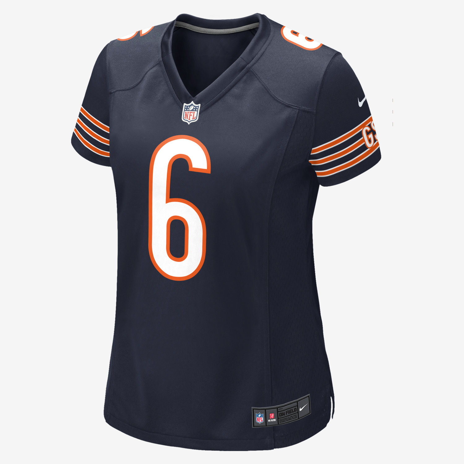 NFL Jersey's Women's Chicago Bears Jay Cutler Nike White Game Jersey