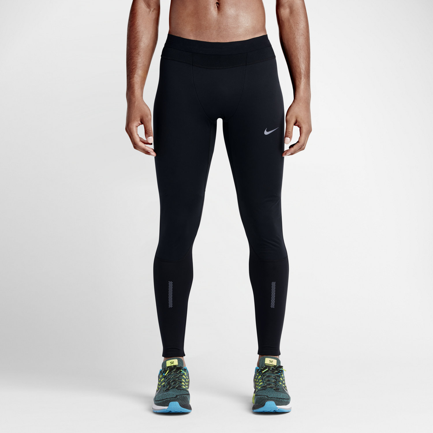ADIDAS MEN'S TIGHTS. Get creative and mix and match your athletic style with the engineered comfort of men's tights. Check out performance technologies to help your focus and modernize your sport's look and feel. RUNNING TIGHTS OR SHORTS? Training outdoors or running the trails means you're faced with a higher chance for unexpected distraction.