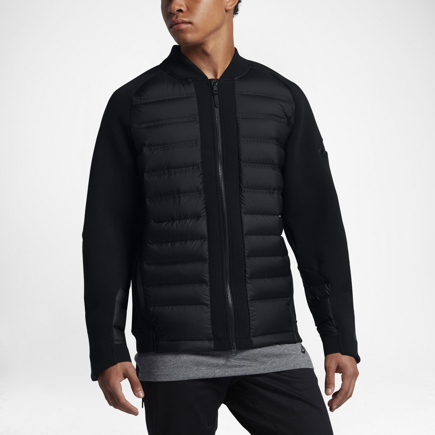 09bf3bc03524 Nike Sportswear Tech Fleece AeroLoft Men s Down Bomber. Nike.com