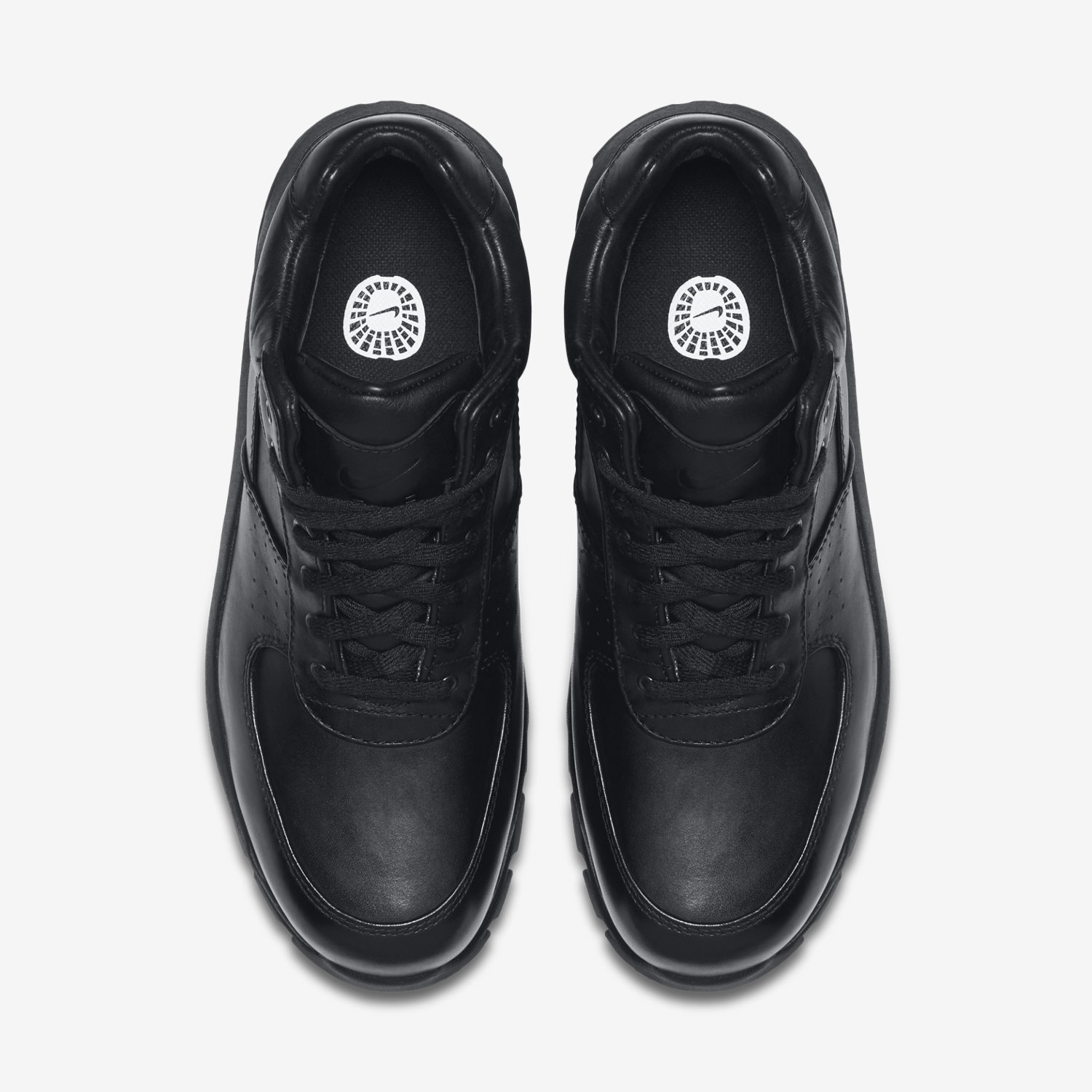 92b5dff15c ... nike air max goadome low leather mens black shoes ...