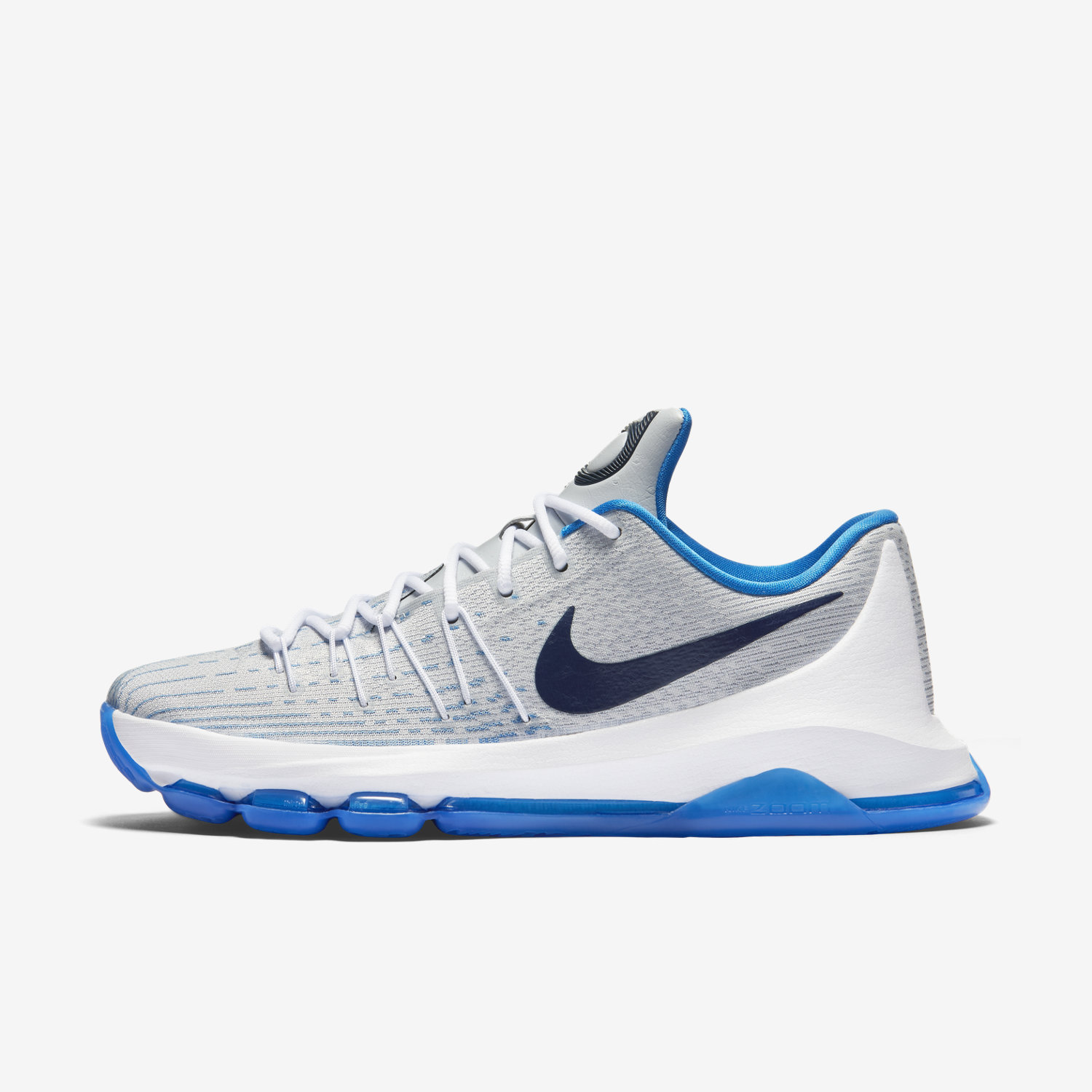 Nike Basketball Shoes Navy And Gray