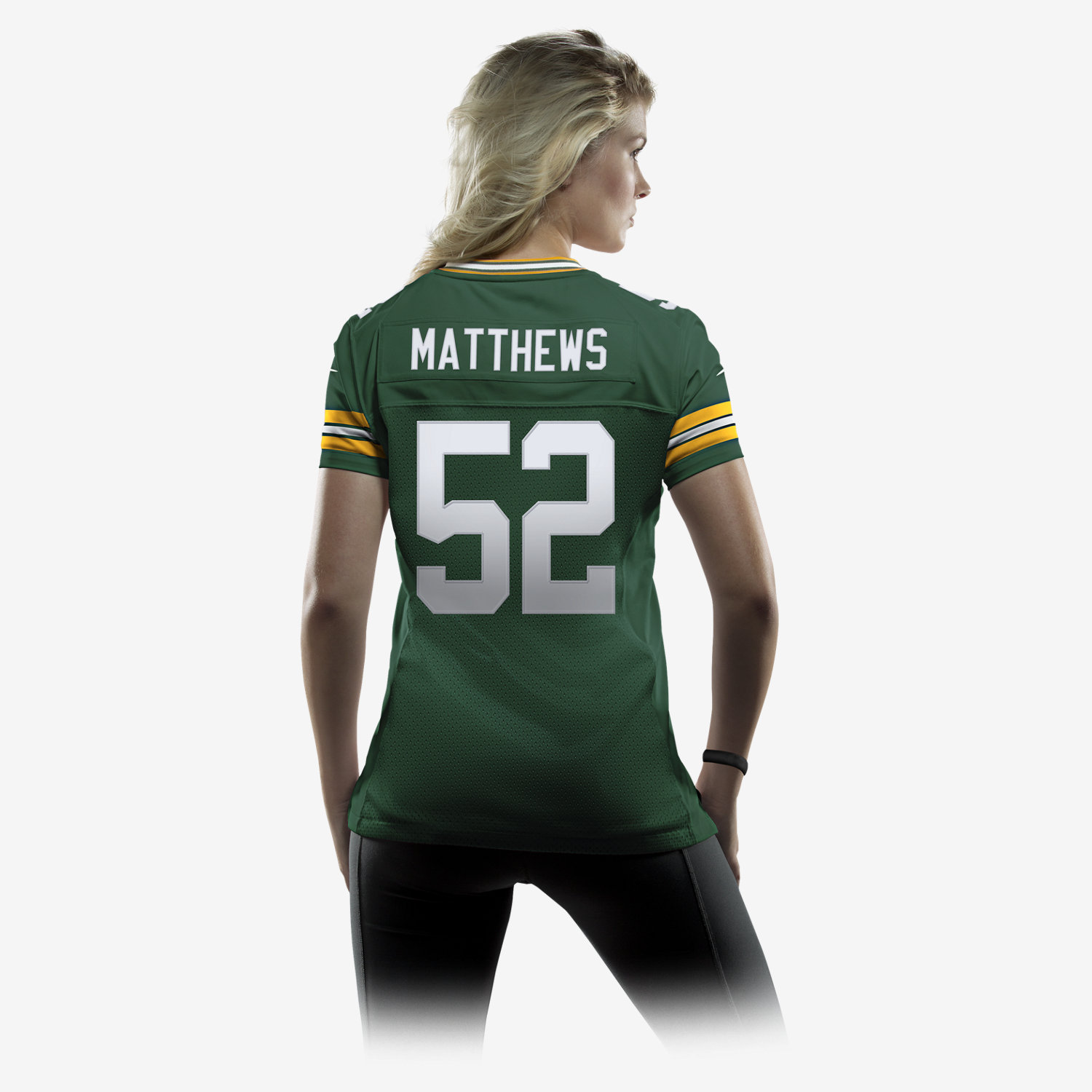 Women Green Bay Packers Aaron Rodgers Nike Green Limited