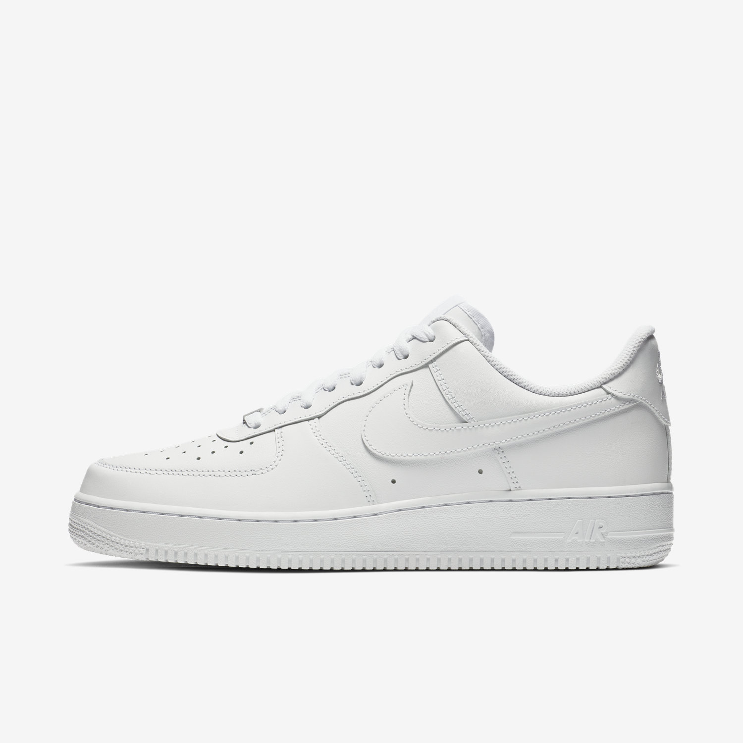 Nike Air Force Low Dames Zwart