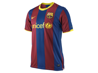 barcelona fc jersey. 2010/11 FC Barcelona Official