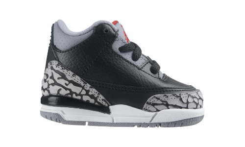 Air Jordan Retro 3 (2c-10c) Boys' Shoe