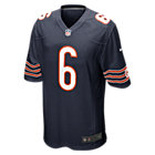 NFL Chicago Bears (Jay Cutler) Men's Football Home Game Jersey