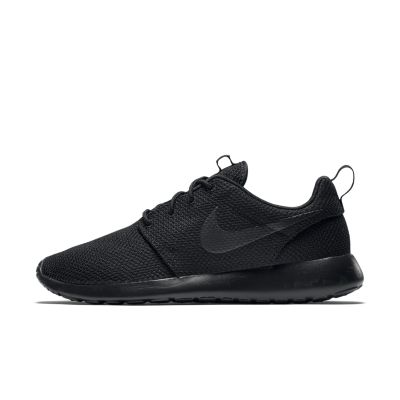 nike roshe all black mens
