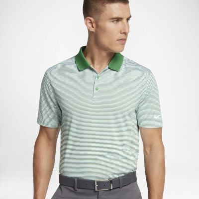 Nike Victory Mini Stripe Men's Standard Fit Golf Polo. Nike.com