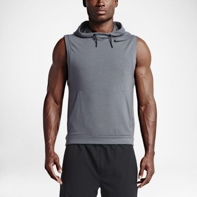 Nike Dry Men's Sleeveless Training Hoodie. Nike.com