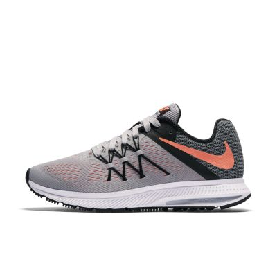 nike zoom winflo 3 women's running shoe. nike - nike zoom winflo 3 womens grey purple
