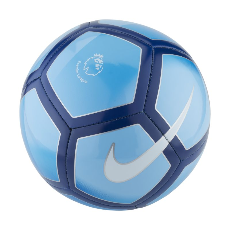 Premier League Pitch Football - Blue