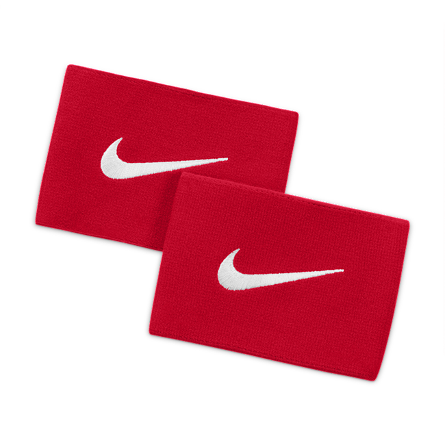 Image of Jambières de football Nike Guard Stay 2 - Rouge