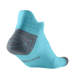 Nike Elite Cushion No-Show Tab Running Socks