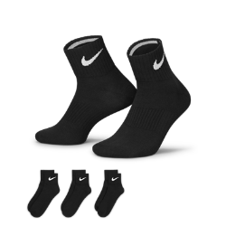 Nike Lightweight Quarter Socks (Large/3 Pair)
