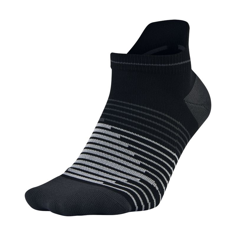 Image of Calze da running Nike Dri-FIT Lightweight No-Show Tab - Nero