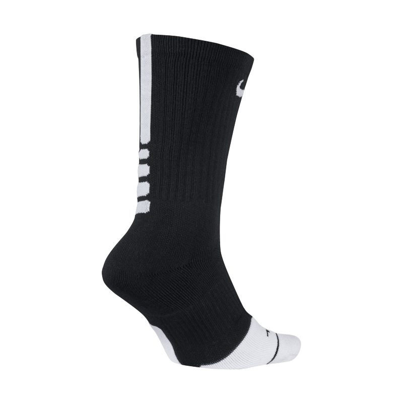 Nike Dry Elite 1.5 Crew Basketball Socks - Black